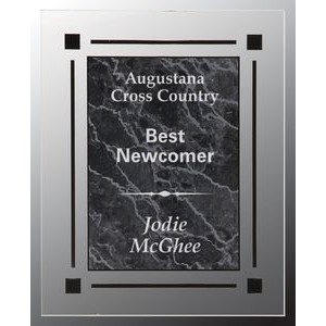 Black Marble Acrylic Plaque