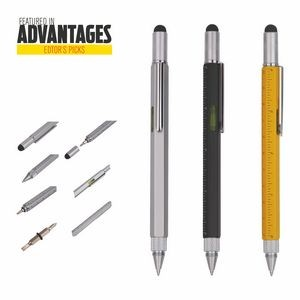 Stylus Multi Function Pen with Tool Set