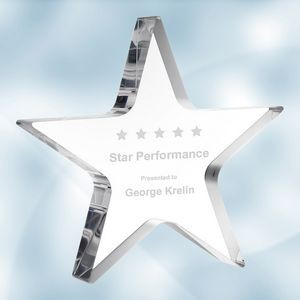 Acrylic Star Award (S)